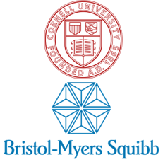 Cornell University and Bristol-Myers Squibb logo